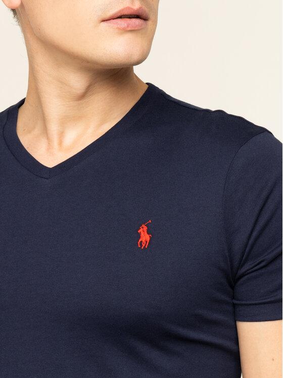 Polo Ralph Lauren Polo Ralph Lauren T-Shirt 710671453091 Tmavomodrá Custom Slim Fit