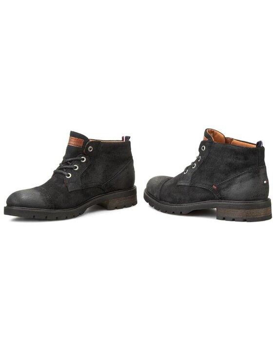TOMMY HILFIGER TOMMY HILFIGER Kotníková obuv Curtis 5AS FM56820209 Černá