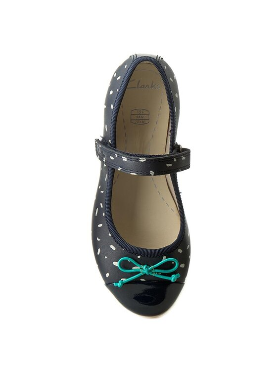 Clarks Clarks Chaussures basses Dance Mad Inf 261236526 Bleu marine