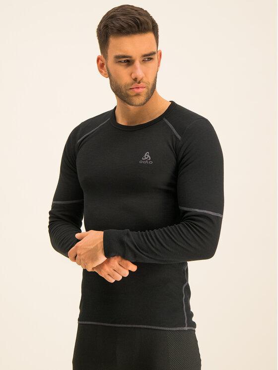 Odlo Odlo Technisches T-Shirt Active X-Warm Bl 155162 Schwarz Fitted Fit