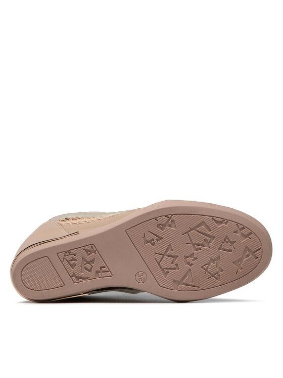 Carinii Carinii Sneakersy B7609 Różowy