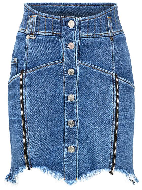 Rage Age Rage Age Spódnica jeansowa Ngine J 2 Niebieski Regular Fit