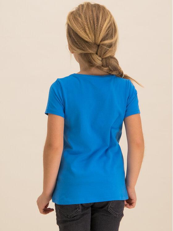 Guess Guess T-Shirt K01I00 K82K0 Μπλε Regular Fit