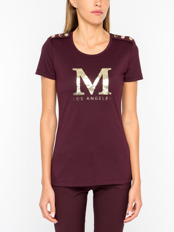 Marciano Guess Marciano Guess Тишърт 94G618 6873Z Бордо Regular Fit