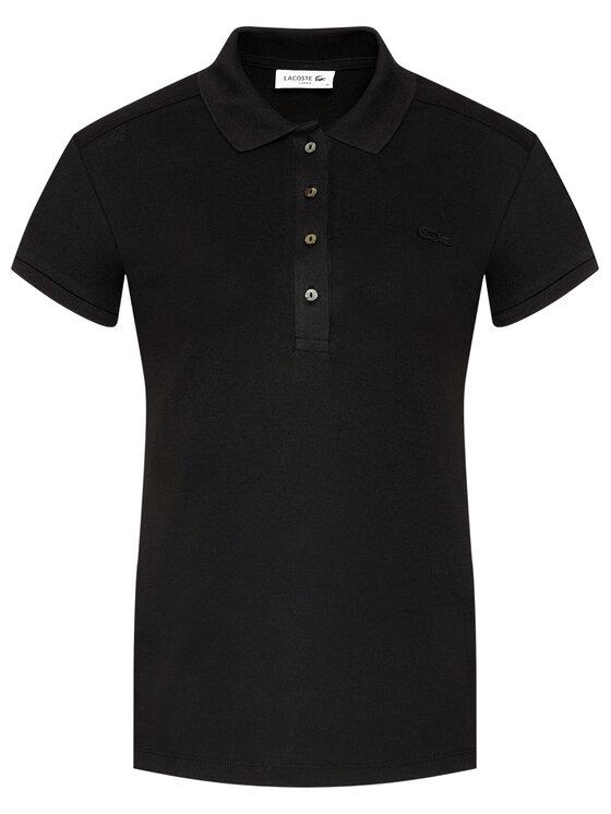 Lacoste Lacoste Polo PF5462 Czarny Slim Fit