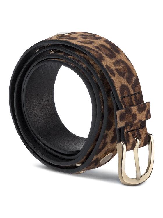 Liu Jo Liu Jo Dámský pásek Cintura Pelle Picco U69088 P0270 Hnědá