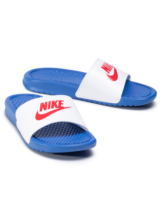 Nike Nike Klapki Benassi Jdi 343880 410 Biały