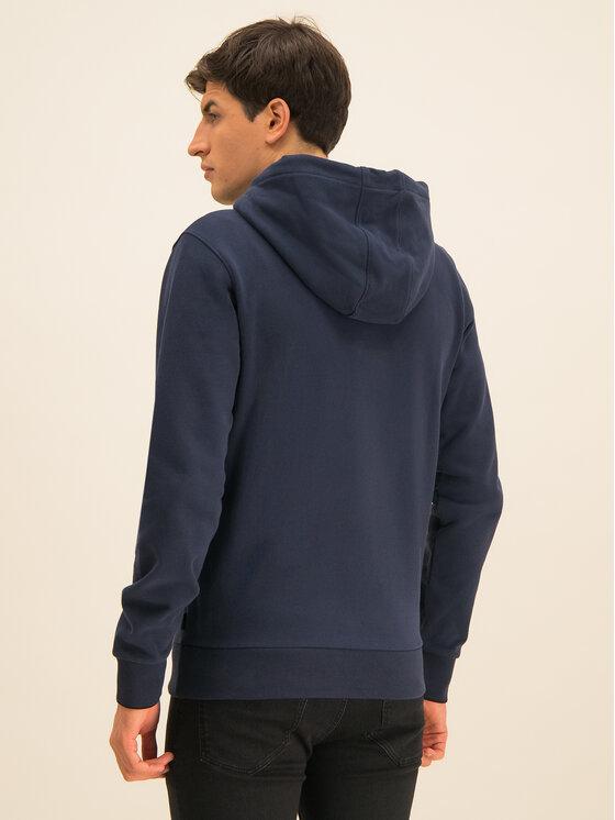 Calvin Klein Calvin Klein Bluza Carbon Brush Through K10K104952 Granatowy Regular Fit