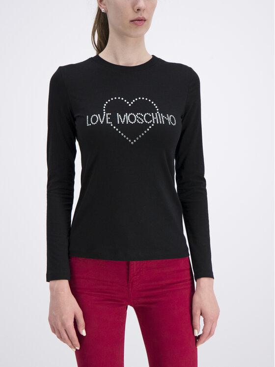 LOVE MOSCHINO LOVE MOSCHINO Palaidinė W4G5207E 2065 Juoda Slim Fit