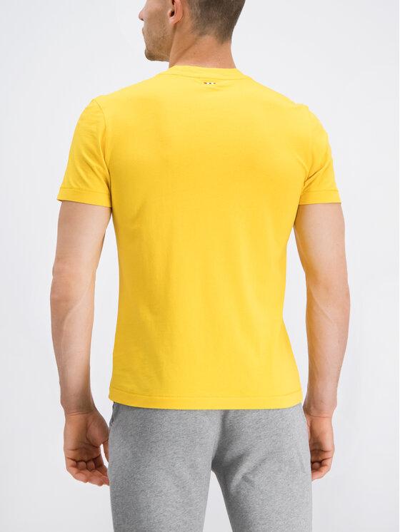 Napapijri Napapijri T-Shirt Sevora N0YIJ9 Gelb Regular Fit