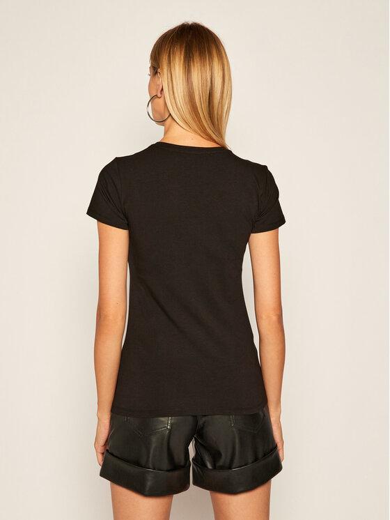 Liu Jo Liu Jo T-Shirt WF0531 J5003 Černá Regular Fit