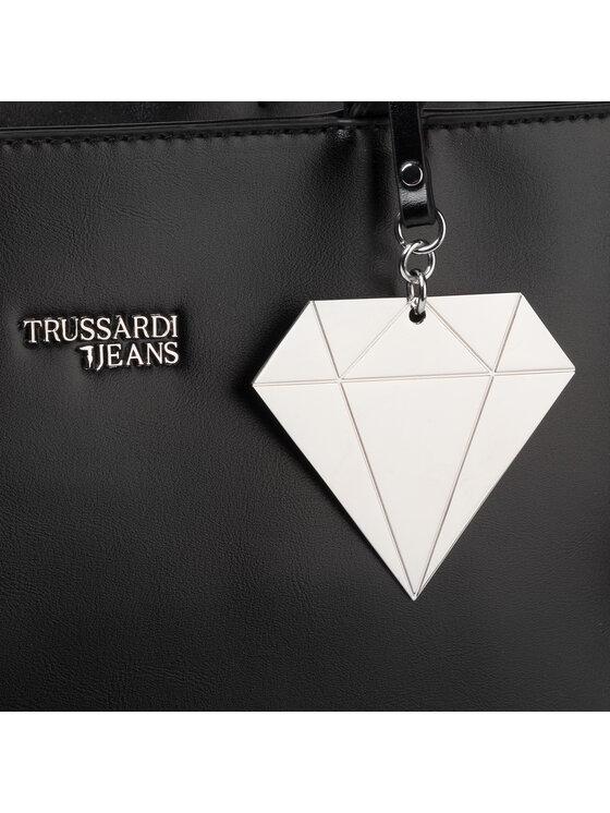 Trussardi Trussardi Jeans Torebka T-Easy Star Tote 75B00670 Czarny