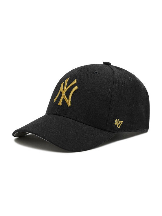 47 Brand Kepurė su snapeliu New York Yankees B-MTLCS17WBP-BK Juoda