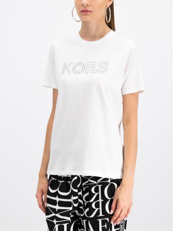 MICHAEL Michael Kors MICHAEL Michael Kors T-shirt MU95M9697J Bianco Regular Fit