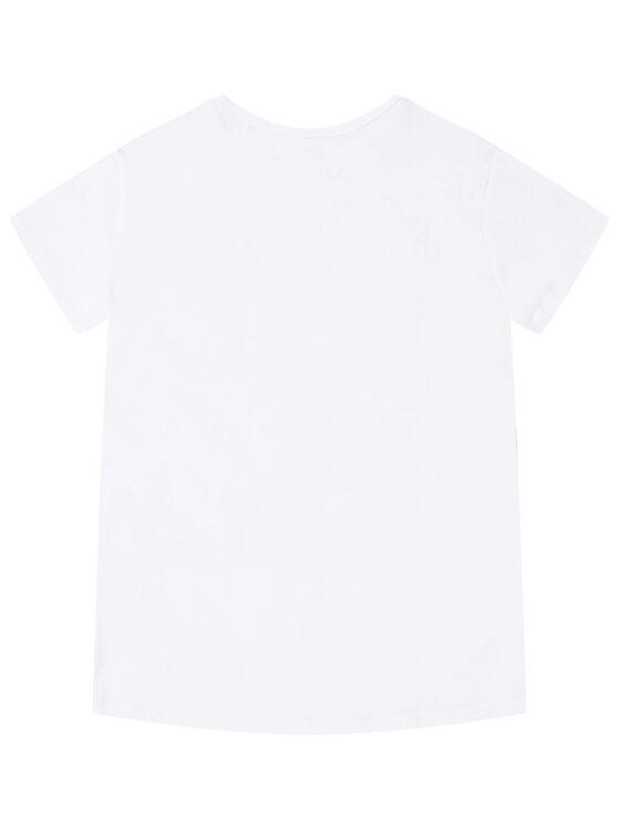 Little Marc Jacobs Little Marc Jacobs T-Shirt W15492 S Biały Regular Fit