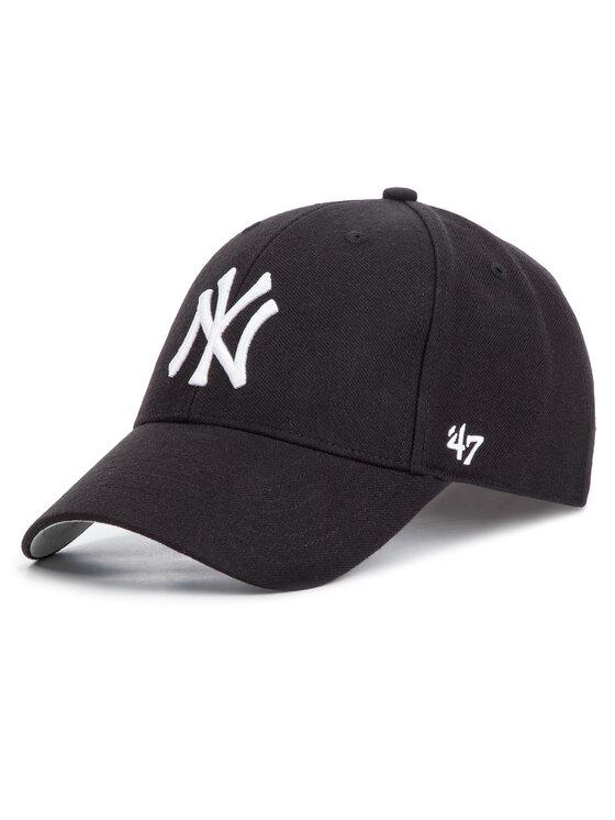 47 Brand Kepurė su snapeliu New York Yankees Home MVP B-MVP17WBV-BK Juoda