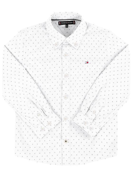 Tommy Hilfiger Tommy Hilfiger Marškiniai Oxford KB0KB05097 M Balta Regular Fit