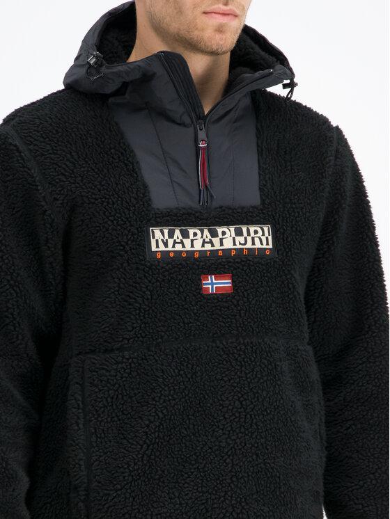Napapijri Napapijri Anorak Teide N0YI3M Noir Regular Fit