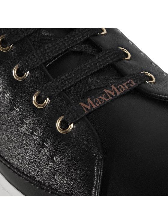 Max Mara Max Mara Sneakers Turner 476617076 Negru