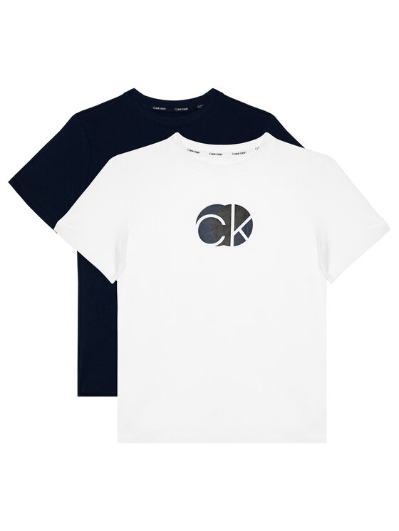 Calvin Klein Underwear Calvin Klein Underwear 2-dílná sada T-shirts 2Pk Tee B70B700282 Barevná Regular Fit