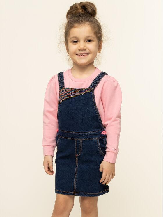 Billieblush Sukienka codzienna U12497 Granatowy Regular Fit