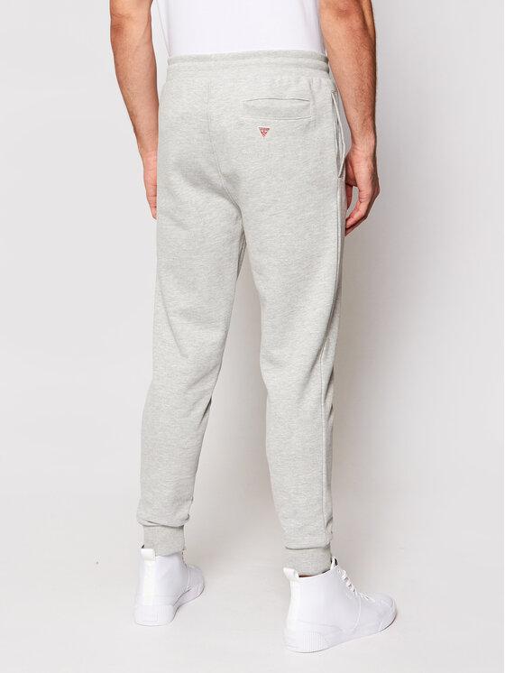 Guess Guess Spodnie dresowe U1GA10 K68I1 Szary Regular Fit