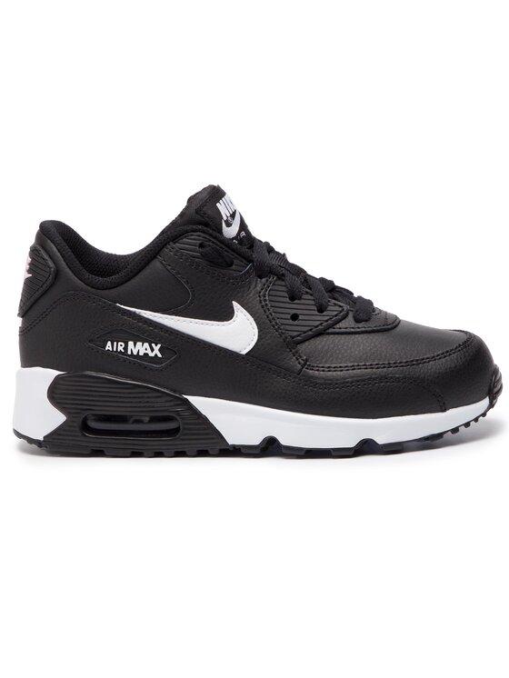 NIKE NIKE Обувки Air Max 90 Ltr (PS) 833414 025 Черен