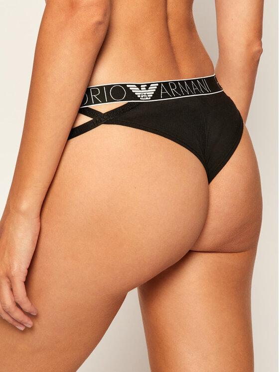 Emporio Armani Underwear Emporio Armani Underwear Brazilské kalhotky 164354 0A317 00020 Černá