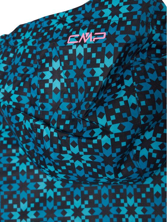CMP CMP Kurtka puchowa 39W2085 Kolorowy Regular Fit
