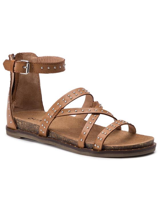 QUAZI QUAZI Sandále QZ-22-02-000192 Hnedá