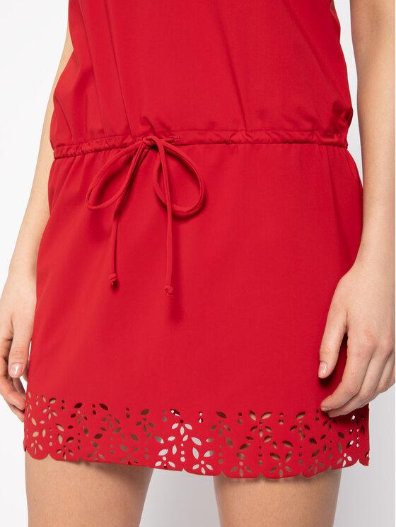 Banana Moon Banana Moon Лятна рокля Ameera Huawei X2369 Червен Regular Fit