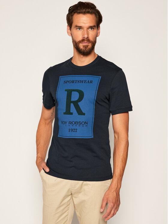Roy Robson Marškinėliai 2832-90 Tamsiai mėlyna Regular Fit
