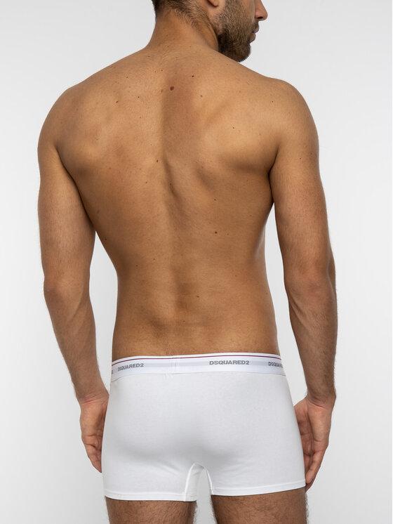 Dsquared2 Underwear Dsquared2 Underwear Set di 3 boxer DCXC60040 Bianco