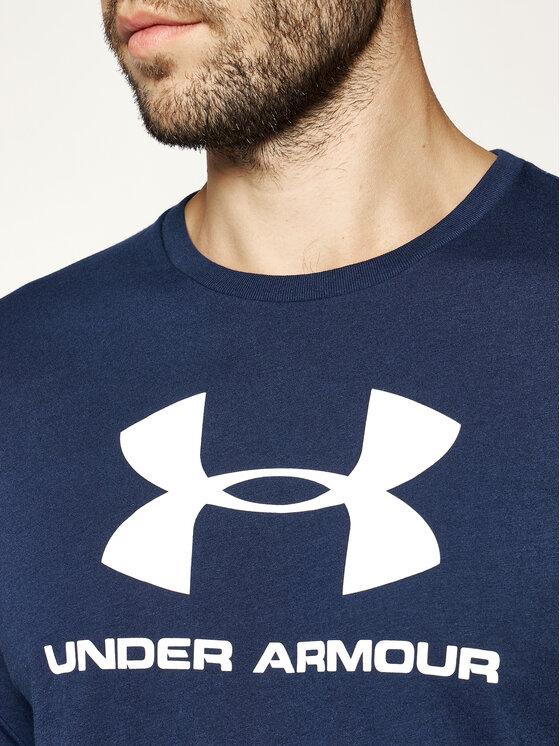 Under Armour Under Armour Póló Ua Sportstyle Logo 1329590 Sötétkék Loose Fit