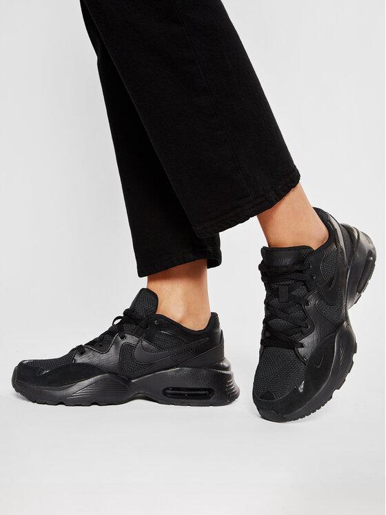 Nike Nike Buty Air Max Fusion (GS) CJ3824 001 Czarny