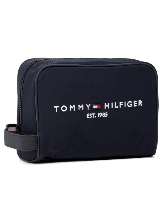 Tommy Hilfiger Tommy Hilfiger Kosmetyczka Th Established Washbag AM0AM07306 Granatowy