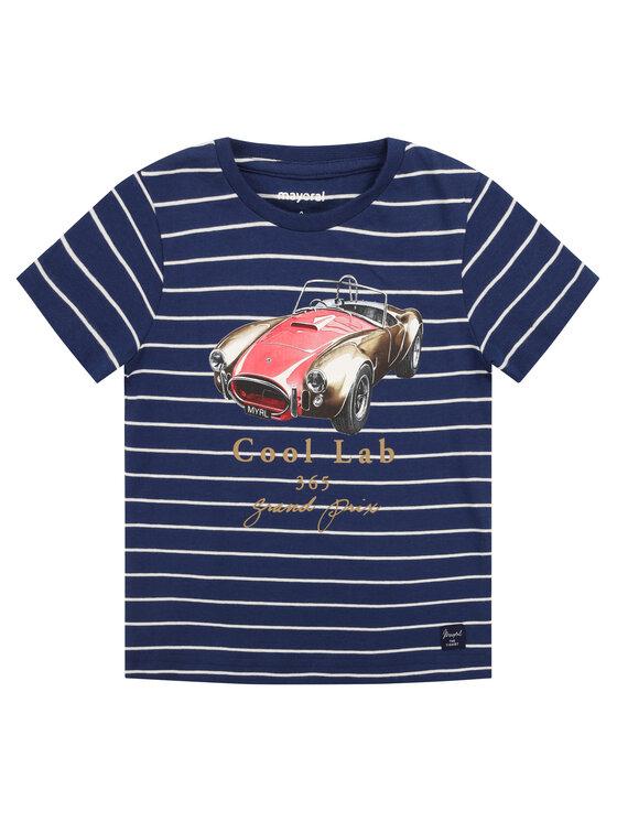 Mayoral Mayoral T-shirt 3064 Blu scuro Regular Fit