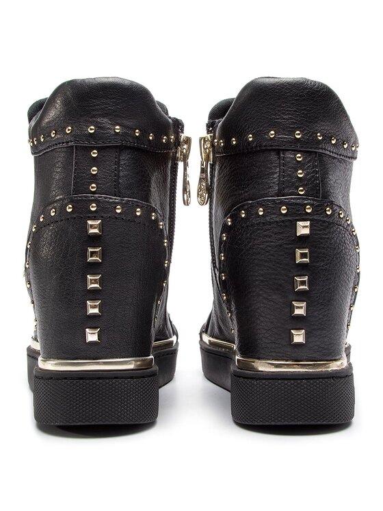 Guess Guess Sneakersy Finer2 FL5FR2 LEA12 Černá