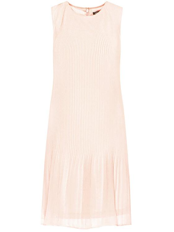 DKNY DKNY Sukienka codzienna DD0BI113 Różowy Regular Fit