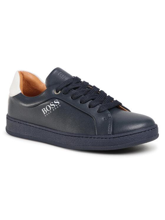 Boss Boss Sneakersy J29222 D Granatowy