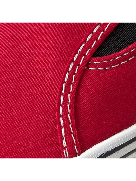 Tommy Hilfiger Tommy Hilfiger Sportbačiai Slater 2D FB56818996 Raudona