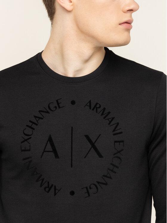 Armani Exchange Armani Exchange Μπλούζα 8NZM87 Z9N1Z 1200 Μαύρο Regular Fit