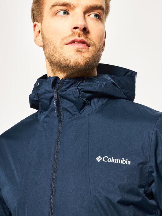 Columbia Columbia Geacă de ploaie Inner Limits II EO0088 Bleumarin Regular Fit
