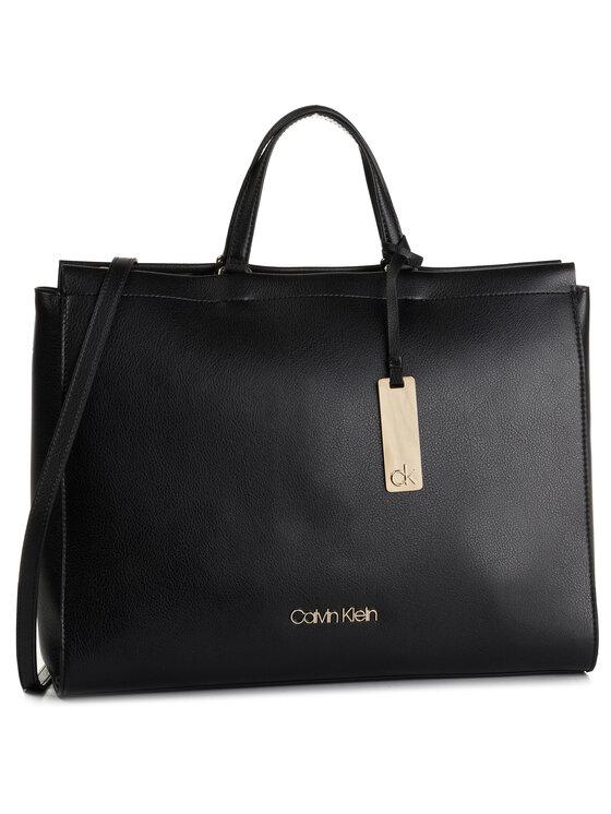 Calvin Klein Calvin Klein Torebka Enfold Tote K60K605619 Czarny