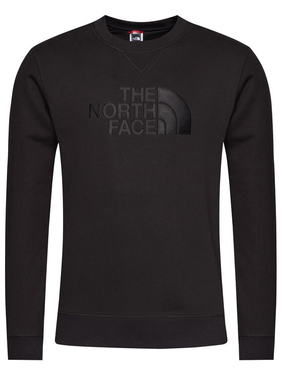 The North Face The North Face Bluza Drew Peak Crew NF0A4SVRJK31 Czarny Regular Fit