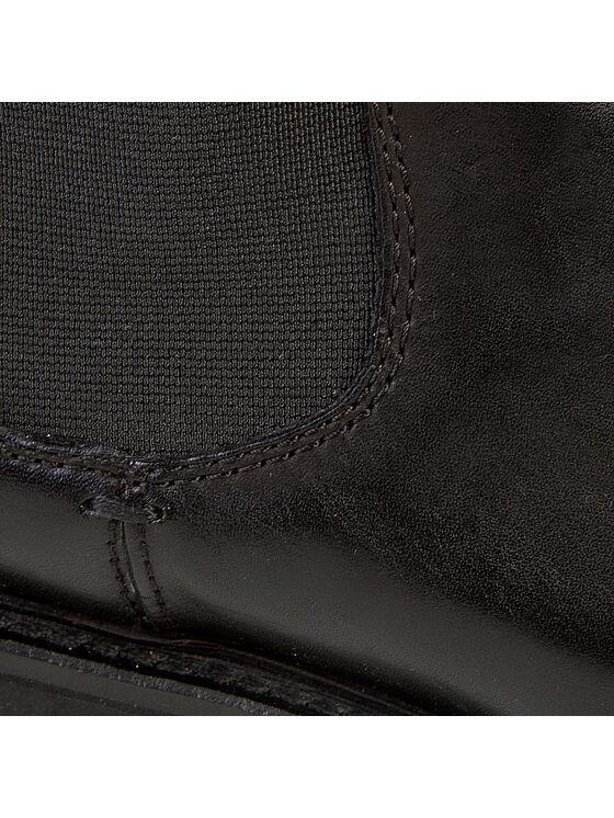 Geox Geox Μποτάκια με λάστιχο U New Igor D U44P6D 00043 C9999 Μαύρο