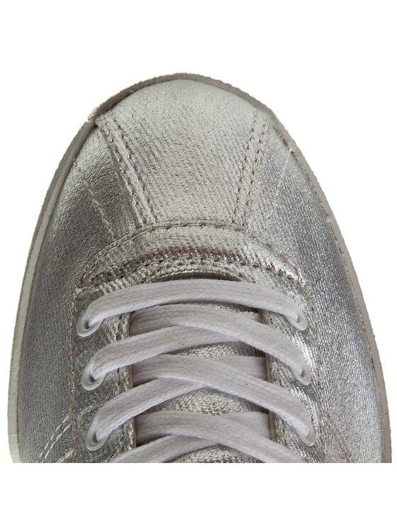 Tommy Hilfiger Tommy Hilfiger Sneakersy Lizzie 1D1 FW0FW00417 Strieborná