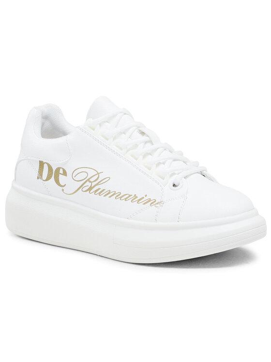 Blumarine Laisvalaikio batai E07WBSEF Balta
