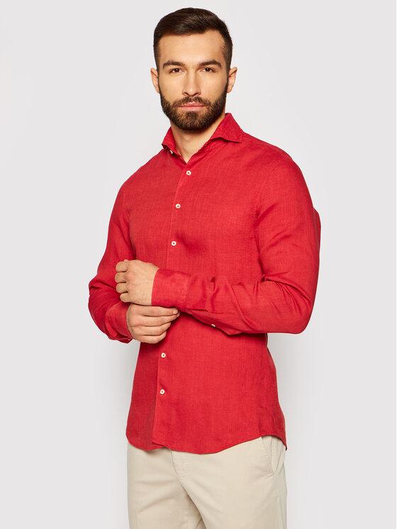 Stenströms Marškiniai 775221 7970 Raudona Slim Fit