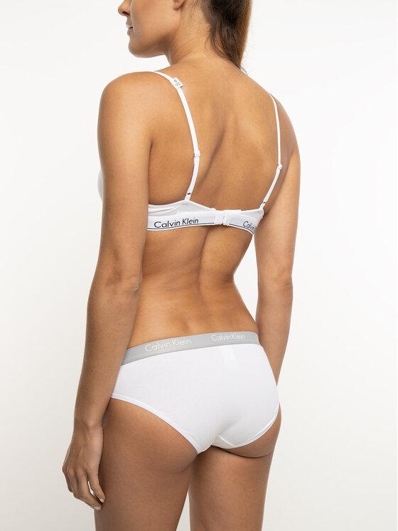 Calvin Klein Underwear Calvin Klein Underwear Podprsenka s kosticami 0000F3784E Biela